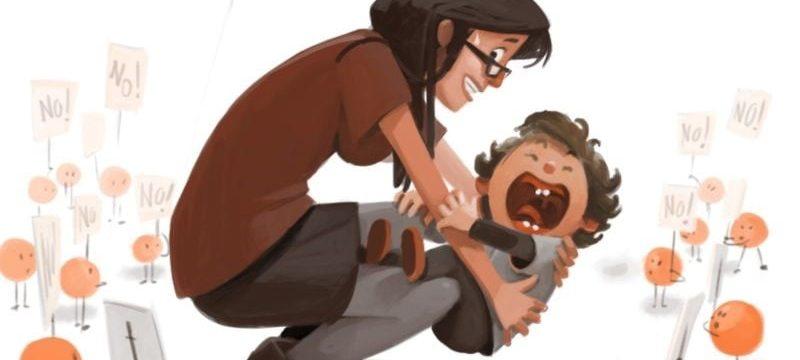 """Cosa fare e cosa non fare se tua figlia / o fa """"i capricci"""""""